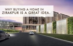 Why buying a home in Zirakpur is a great idea. small